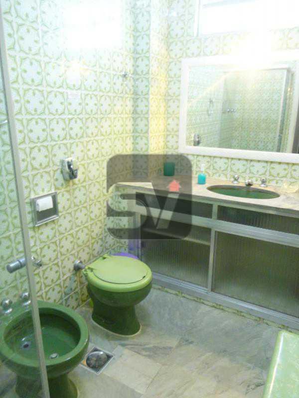 Banheiro social - Mobiliado. Amplo. Copacabana. 3 Quartos - SVAP30010 - 4