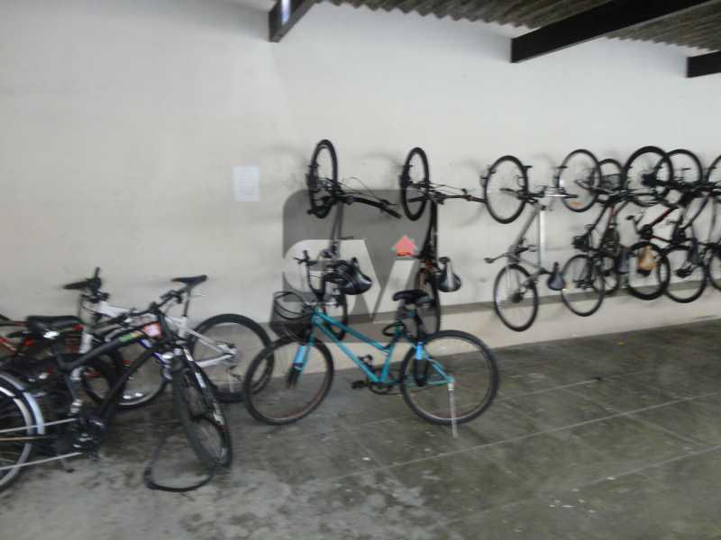 Bicicletário - Mobiliado. Amplo. Copacabana. 3 Quartos - SVAP30010 - 12