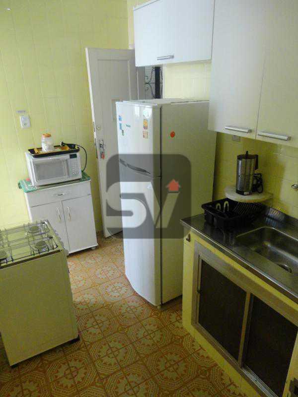 Cozinha - Excelente localização. Copacabana. 2 quartos - SVAP20014 - 11