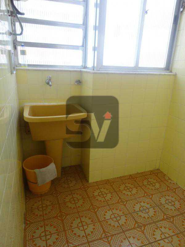 Área de serviço - Excelente localização. Copacabana. 2 quartos - SVAP20014 - 14