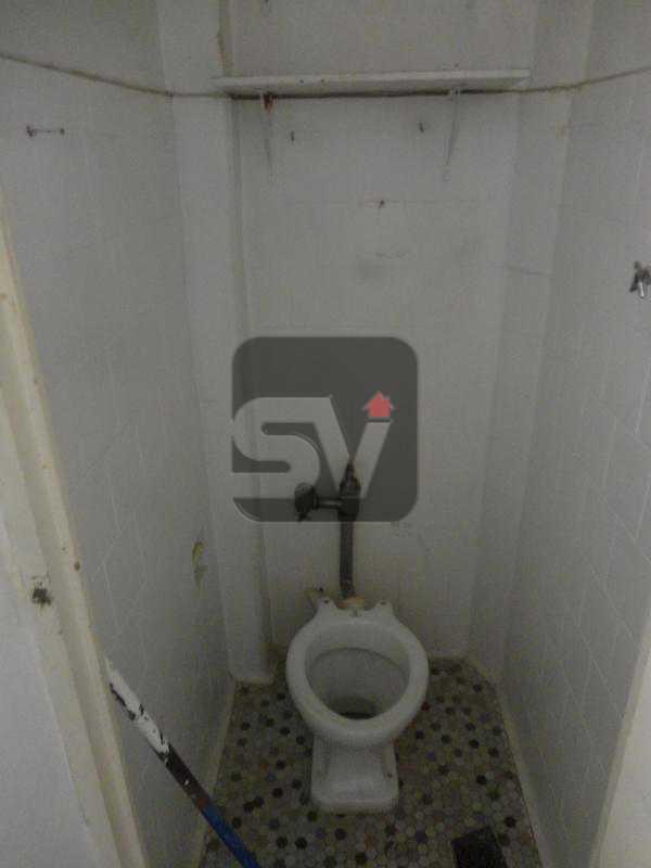 Banheiro de Serviço  - Apartamento à venda Rua Sorocaba,Rio de Janeiro,RJ - R$ 600.000 - SVAP20019 - 14