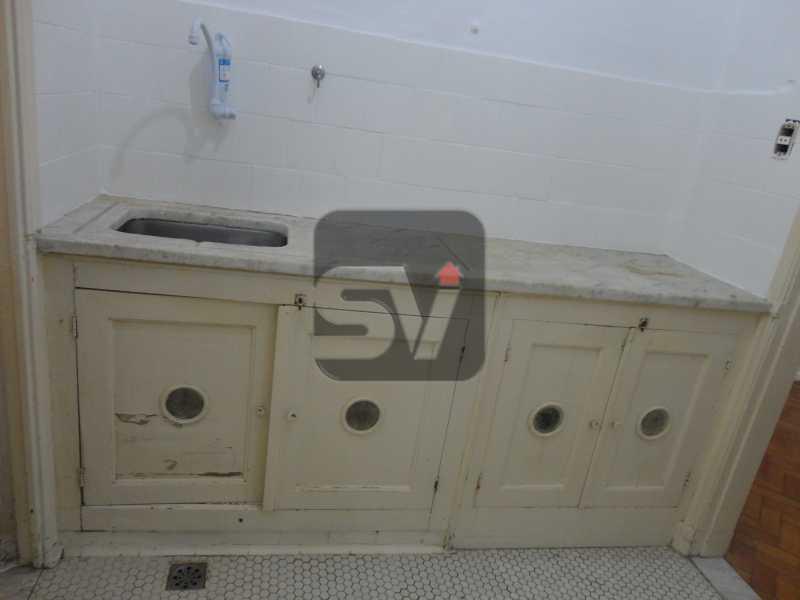 Cozinha - Apartamento à venda Rua Sorocaba,Rio de Janeiro,RJ - R$ 600.000 - SVAP20019 - 8