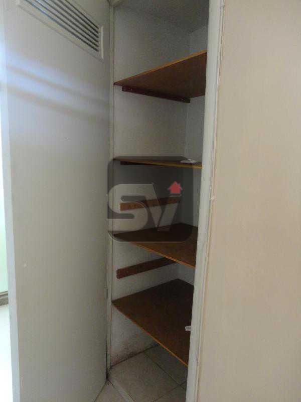 Armário - Apartamento Para Alugar - Rio de Janeiro - RJ - Botafogo - SVAP10011 - 5