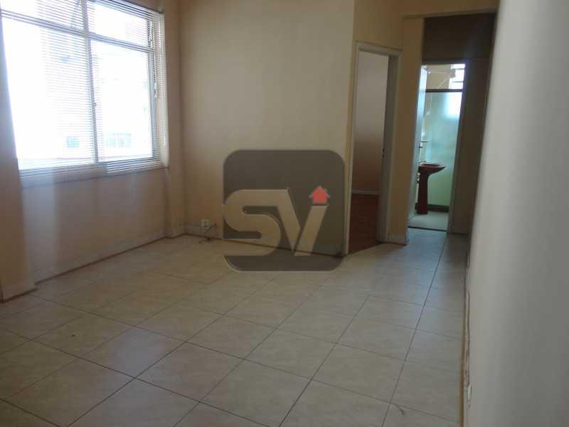 Sala - Apartamento Para Alugar - Rio de Janeiro - RJ - Botafogo - SVAP10011 - 3