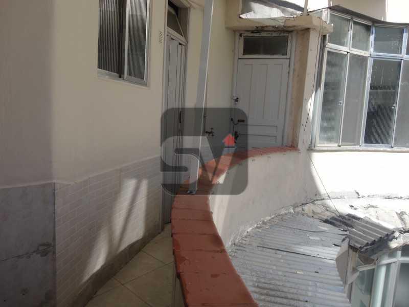 Varanda  - Apartamento Para Alugar - Rio de Janeiro - RJ - Botafogo - SVAP10011 - 10