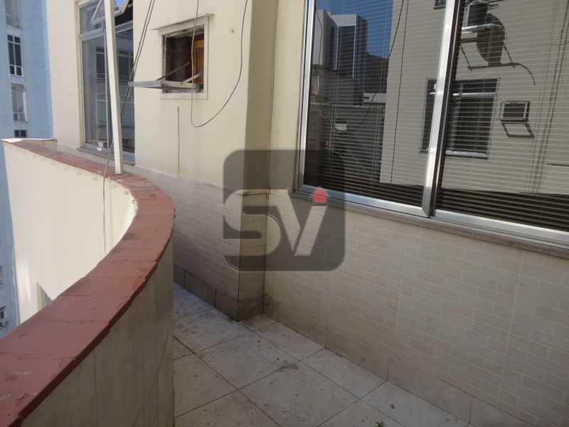 Varanda  - Apartamento Para Alugar - Rio de Janeiro - RJ - Botafogo - SVAP10011 - 11