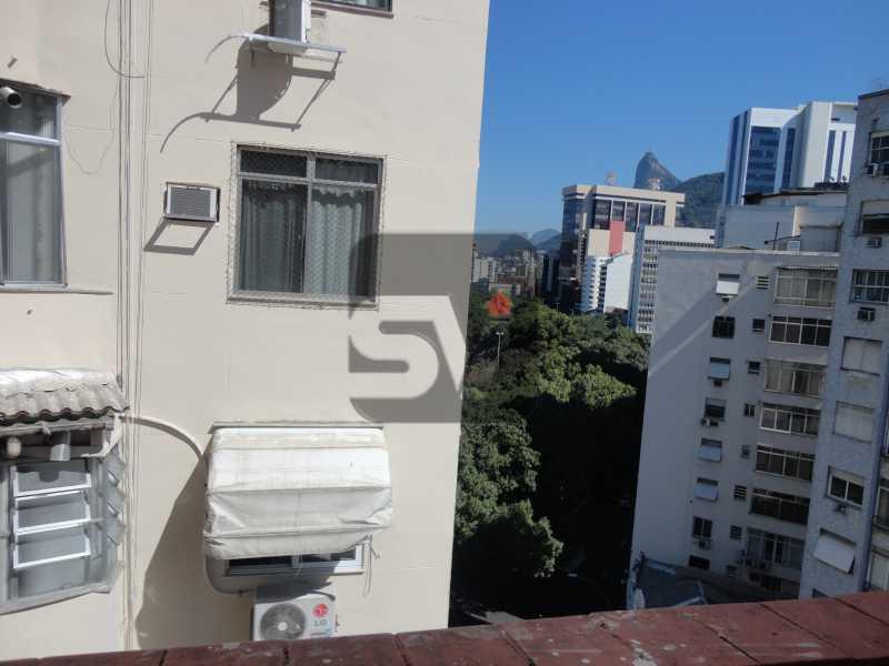 Vista do quarto - Apartamento Para Alugar - Rio de Janeiro - RJ - Botafogo - SVAP10011 - 8