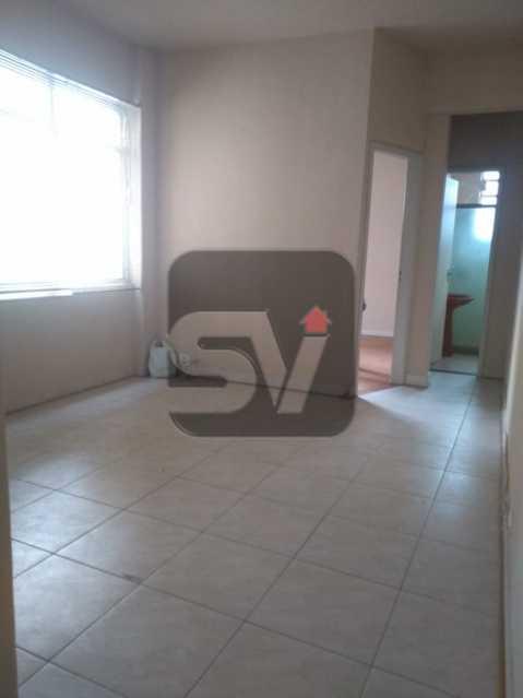 Sala - Apartamento Para Alugar - Rio de Janeiro - RJ - Botafogo - SVAP10011 - 1