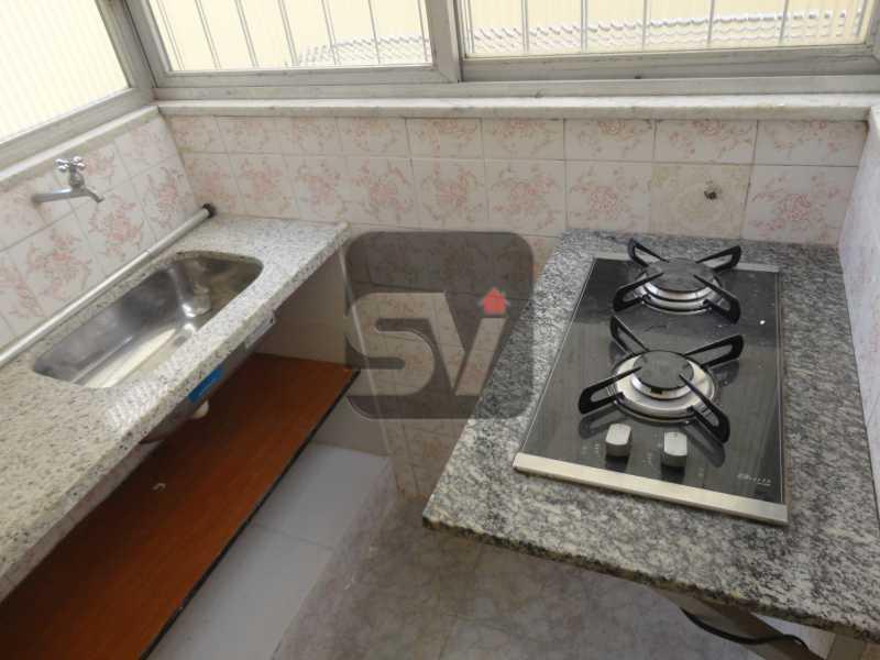 Cozinha - Flamengo, quadra da praia, praticidade e oportunidade - SVKI00012 - 4