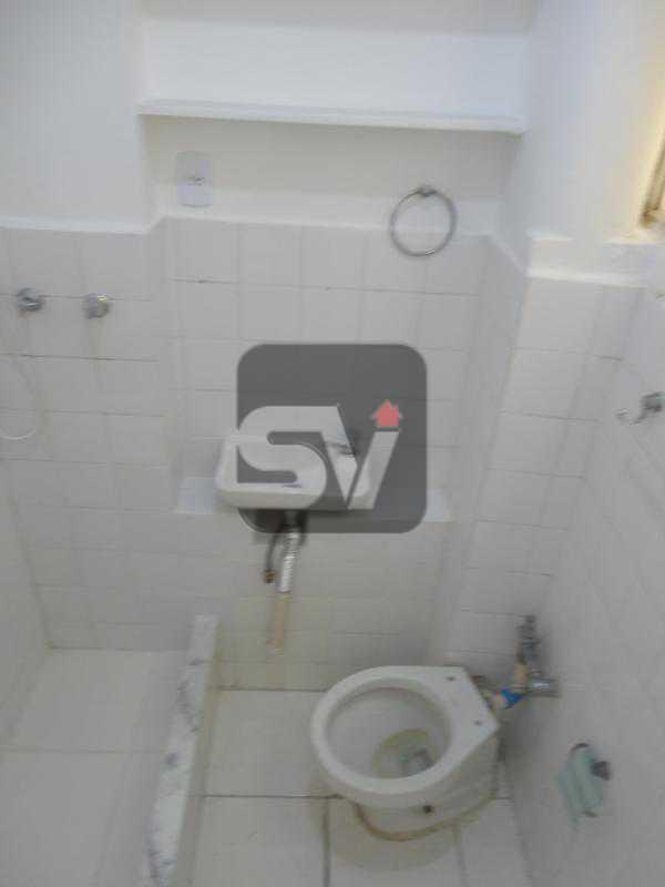Banheiro  - Flamengo, quadra da praia, praticidade e oportunidade - SVKI00012 - 6