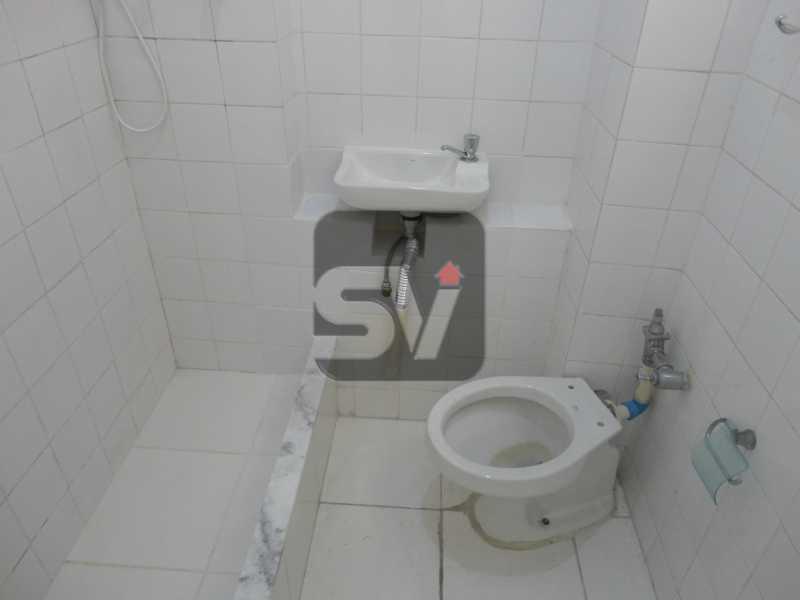 Banheiro  - Flamengo, quadra da praia, praticidade e oportunidade - SVKI00012 - 7