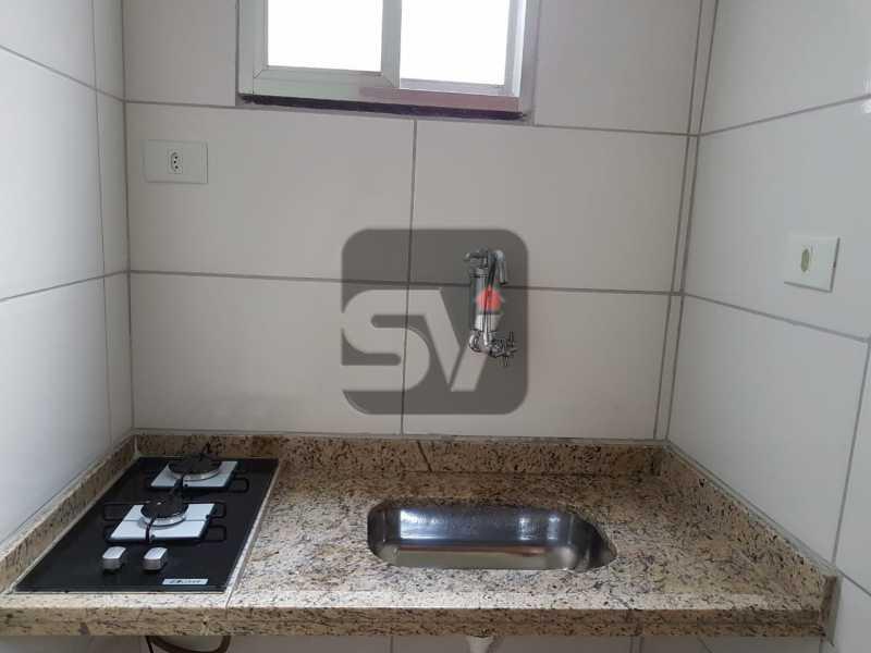 Cozinha - Mobiliado. Reformado. Copacabana. Conjugado - SVKI00016 - 9