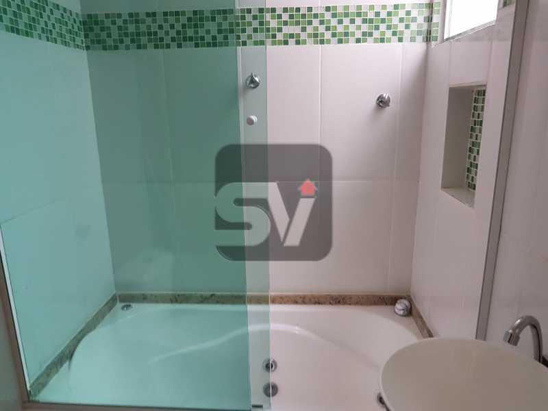 Banheiro social - Mobiliado. Reformado. Copacabana. Conjugado - SVKI00016 - 8