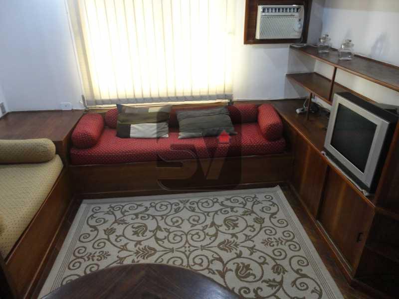 Sala  - Mobiliado. 1 quarto com dependência. Flamengo - SVAP10015 - 1