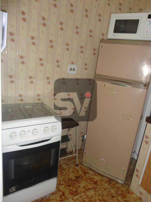 Cozinha - Mobiliado. 1 quarto com dependência. Flamengo - SVAP10015 - 10
