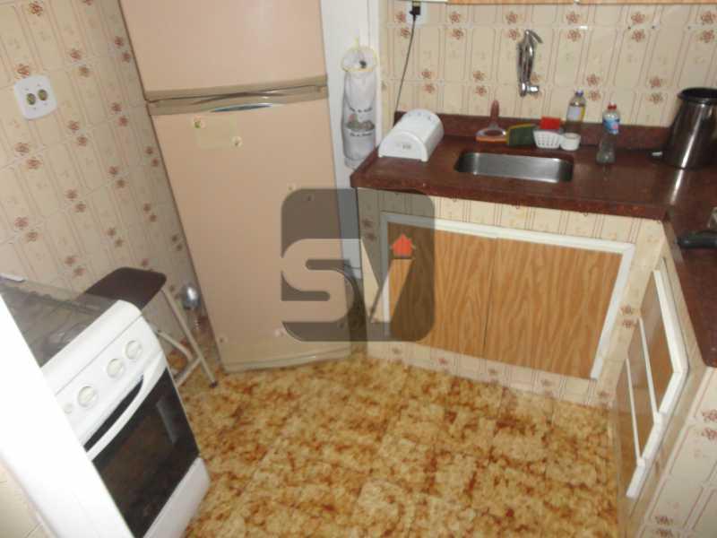 Cozinha - Mobiliado. 1 quarto com dependência. Flamengo - SVAP10015 - 11