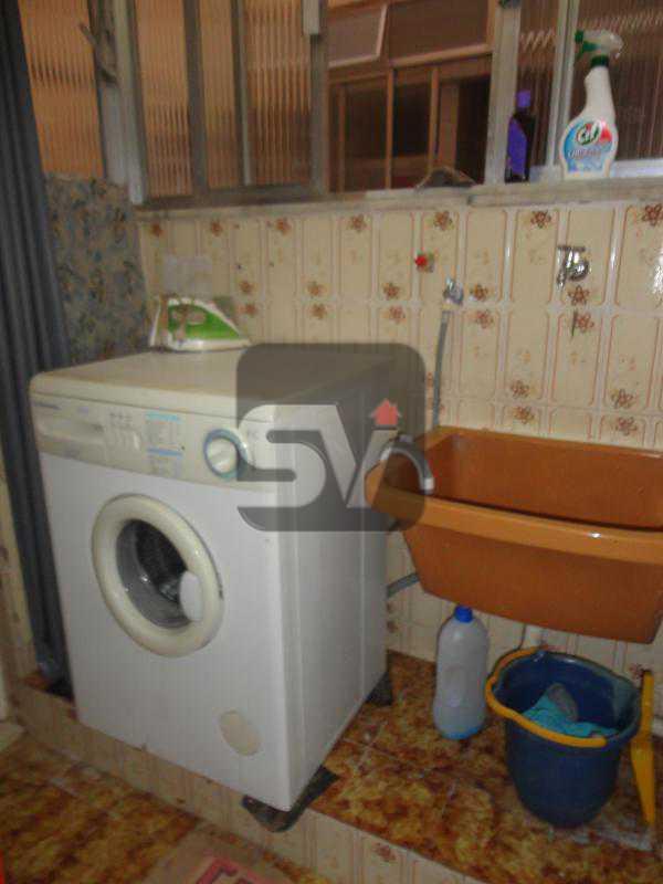 Area de serviço - Mobiliado. 1 quarto com dependência. Flamengo - SVAP10015 - 18