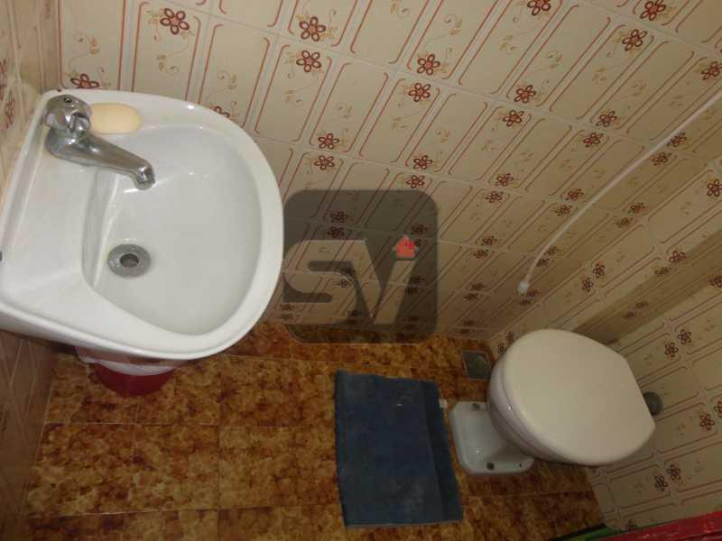 Banheiro de serviço.  - Mobiliado. 1 quarto com dependência. Flamengo - SVAP10015 - 20