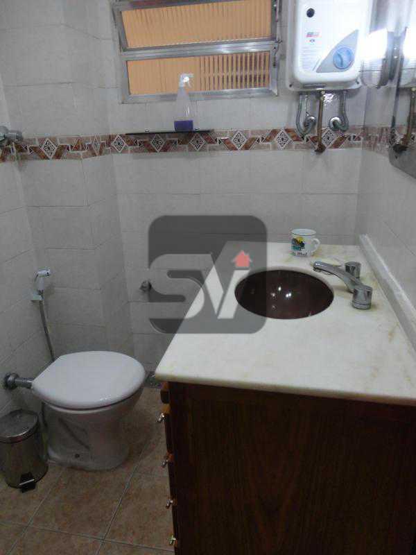 Banheiro social - Mobiliado. 1 quarto com dependência. Flamengo - SVAP10015 - 16