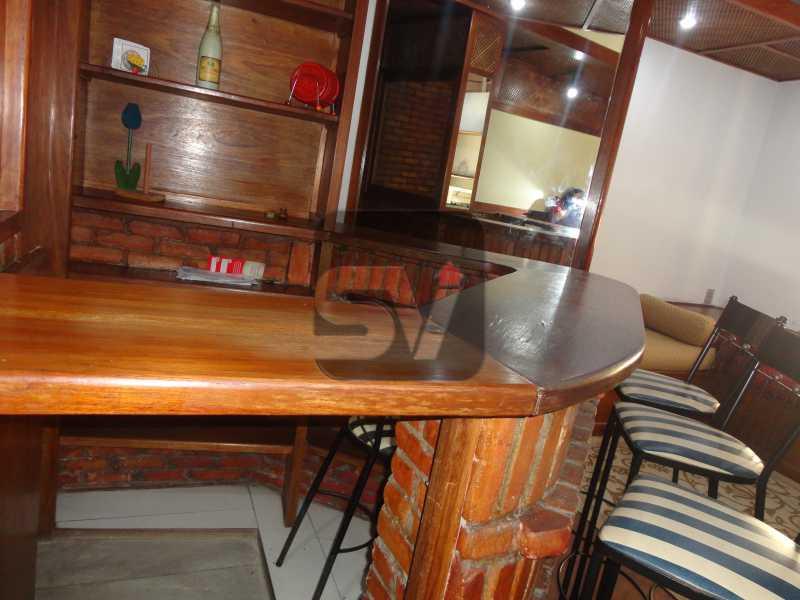 Bar na sala - Mobiliado. 1 quarto com dependência. Flamengo - SVAP10015 - 5