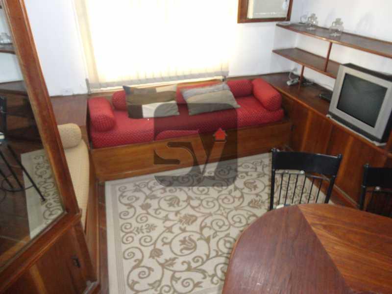 Sala - Mobiliado. 1 quarto com dependência. Flamengo - SVAP10015 - 3