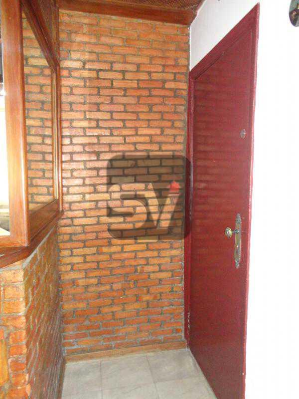 Entrada do apartamento - Mobiliado. 1 quarto com dependência. Flamengo - SVAP10015 - 8