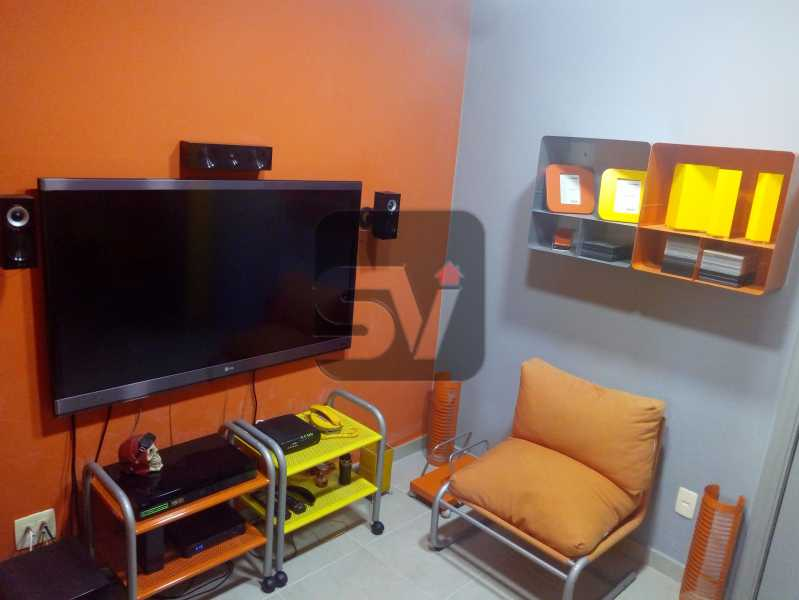 Sala - Apartamento Rio de Janeiro,zona sul,Botafogo,RJ À Venda,30m² - SVAP00007 - 3