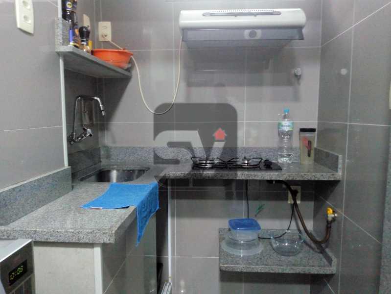 Cozinha - Apartamento Rio de Janeiro,zona sul,Botafogo,RJ À Venda,30m² - SVAP00007 - 6