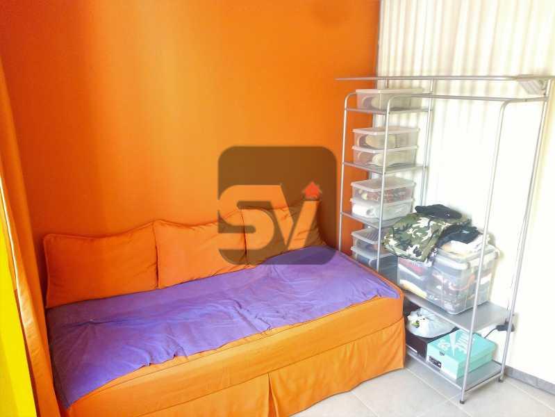Quarto - Apartamento Rio de Janeiro,zona sul,Botafogo,RJ À Venda,30m² - SVAP00007 - 9