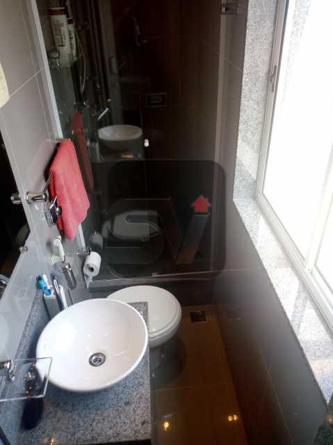 Banheiro - Apartamento Rio de Janeiro,zona sul,Botafogo,RJ À Venda,30m² - SVAP00007 - 10