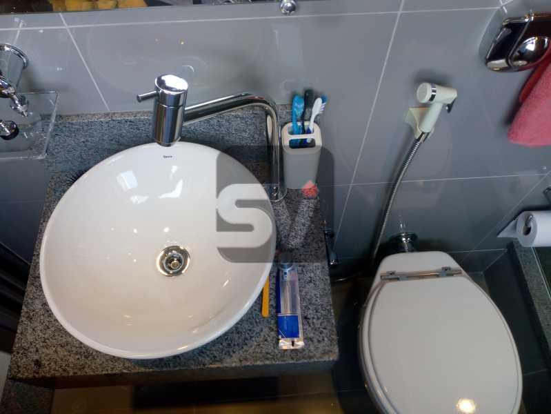 Banheiro - Apartamento Rio de Janeiro,zona sul,Botafogo,RJ À Venda,30m² - SVAP00007 - 11