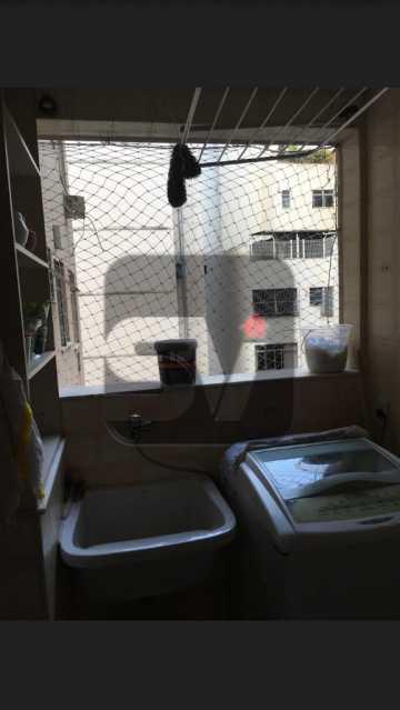 Área de serviço - Copacabana rua nobre, 2 quartos, 115 metros, 3 vagas, varandão, imperdível - SVAP20028 - 14