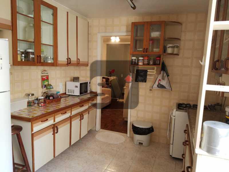 Cozinha - Copacabana rua nobre, 2 quartos, 115 metros, 3 vagas, varandão, imperdível - SVAP20028 - 12