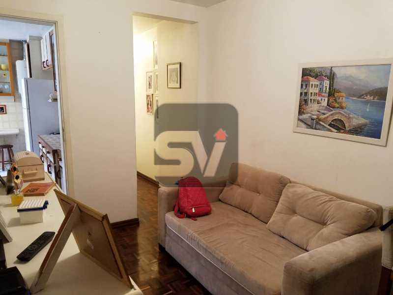 Sala - Copacabana rua nobre, 2 quartos, 115 metros, 3 vagas, varandão, imperdível - SVAP20028 - 4