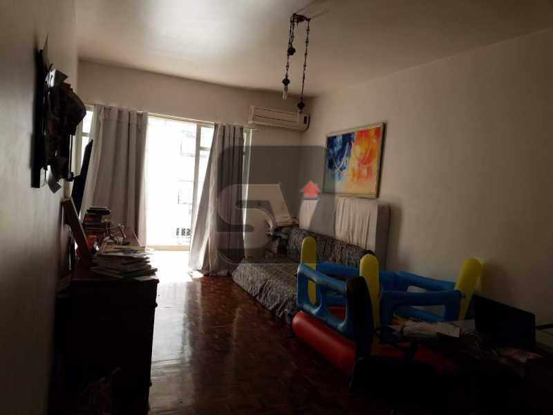 Sala - Copacabana rua nobre, 2 quartos, 115 metros, 3 vagas, varandão, imperdível - SVAP20028 - 6