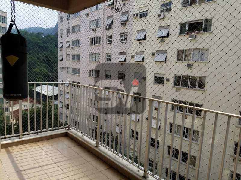 Varanda - Copacabana rua nobre, 2 quartos, 115 metros, 3 vagas, varandão, imperdível - SVAP20028 - 1
