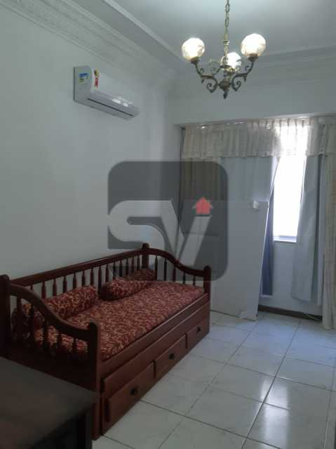 Sala - Apartamento mobiliado de 3 quartos, esquina com Av. Atlântica - SVAP30025 - 3