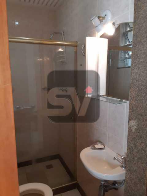 Banheiro Suíte - Apartamento mobiliado de 3 quartos, esquina com Av. Atlântica - SVAP30025 - 14