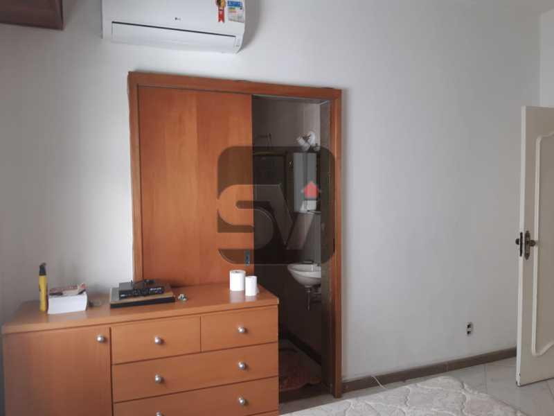 Suíte - Apartamento mobiliado de 3 quartos, esquina com Av. Atlântica - SVAP30025 - 11