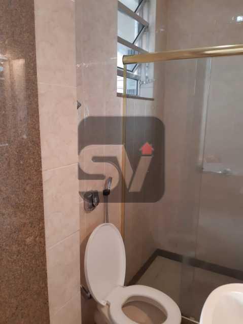 Banheiro Suíte - Apartamento mobiliado de 3 quartos, esquina com Av. Atlântica - SVAP30025 - 13