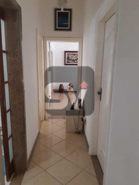 Corredor - Apartamento mobiliado de 3 quartos, esquina com Av. Atlântica - SVAP30025 - 7