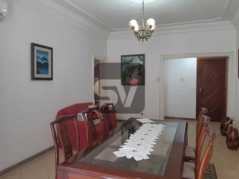 Sala de Jantar - Apartamento mobiliado de 3 quartos, esquina com Av. Atlântica - SVAP30025 - 6
