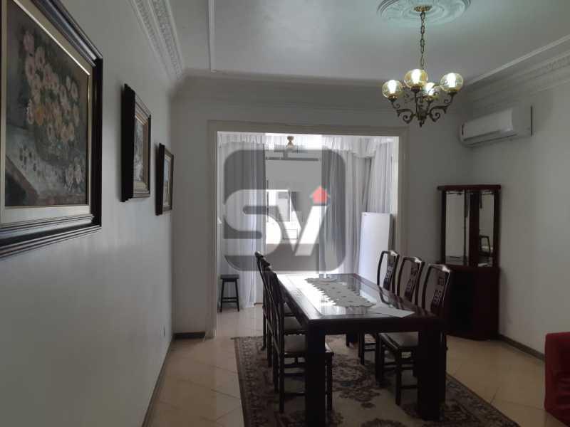 Sala de Jantar - Apartamento mobiliado de 3 quartos, esquina com Av. Atlântica - SVAP30025 - 5