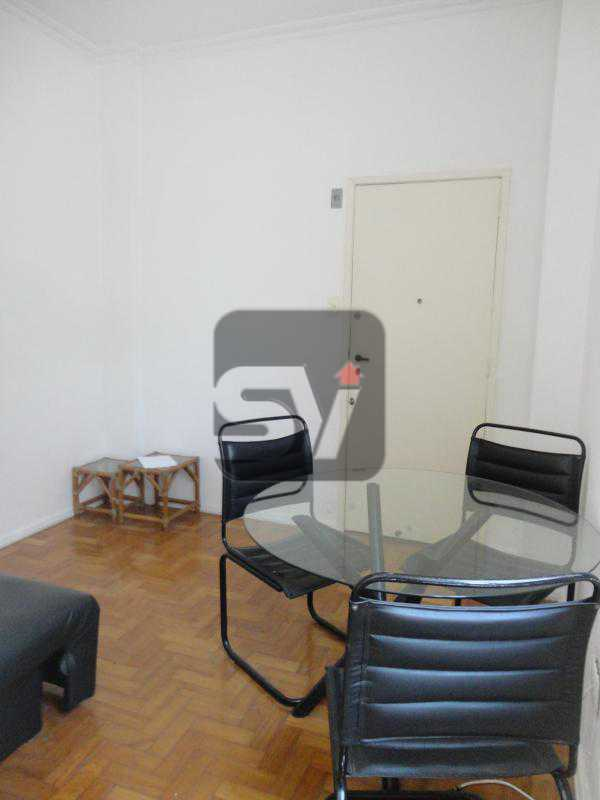Sala - Flamengo. Andar alto. Semi Mobiliado. 1 Quarto. Vaga - SVAP10032 - 3