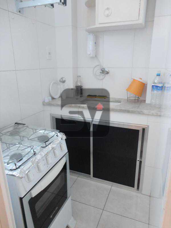 Cozinha - Flamengo. Andar alto. Semi Mobiliado. 1 Quarto. Vaga - SVAP10032 - 8