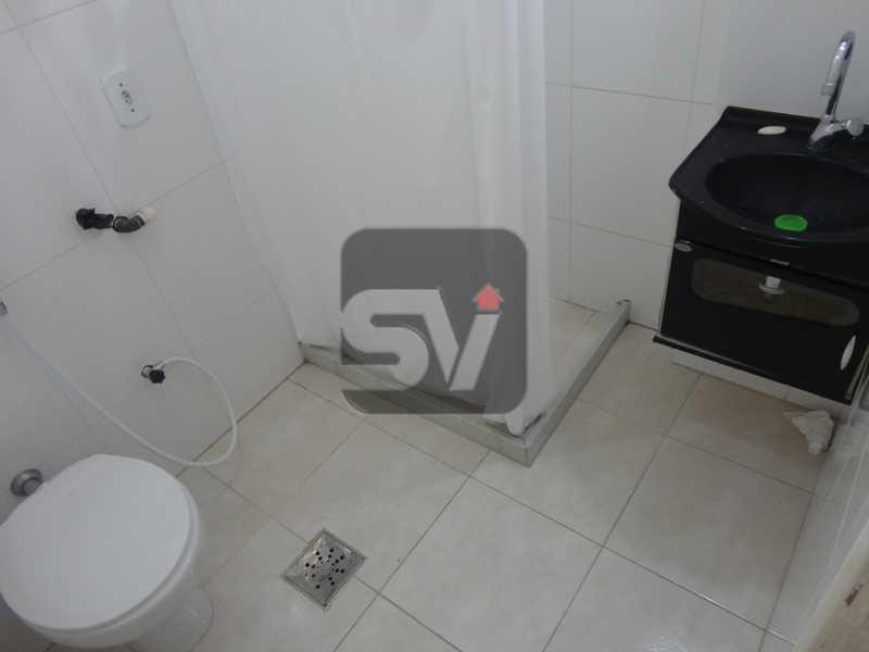 Banheiro  - Flamengo. Andar alto. Semi Mobiliado. 1 Quarto. Vaga - SVAP10032 - 10