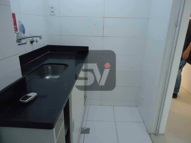 Cozinha - Sala Comercial Rio de Janeiro, zona sul,Copacabana, RJ Para Alugar, 40m² - SVSL00005 - 5