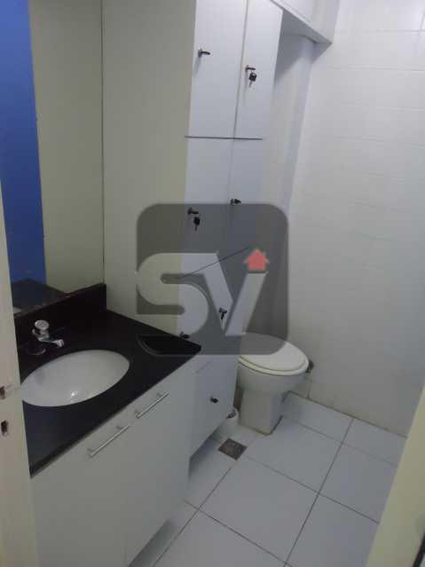 Banheiro social - Sala Comercial Rio de Janeiro, zona sul,Copacabana, RJ Para Alugar, 40m² - SVSL00005 - 8