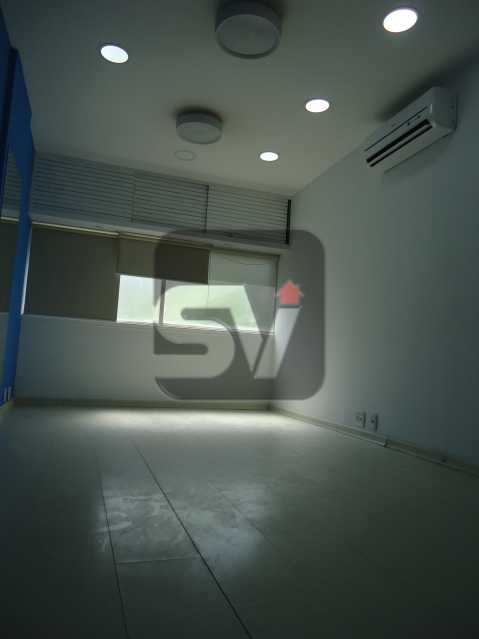 Sala - Sala Comercial Rio de Janeiro, zona sul,Copacabana, RJ Para Alugar, 40m² - SVSL00005 - 11