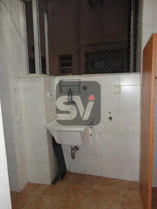 Área de serviço - Apartamento 3 quartos para alugar Rio de Janeiro,RJ - R$ 2.900 - SVAP30029 - 21
